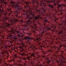 burgundy carpet mat