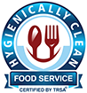 TRSA Hygenically Clean for Food Service Logo